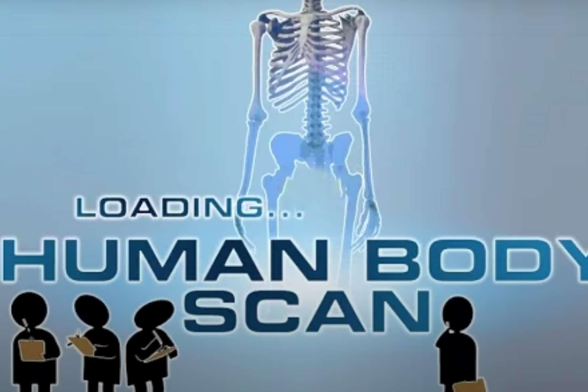 Human Medical Scan